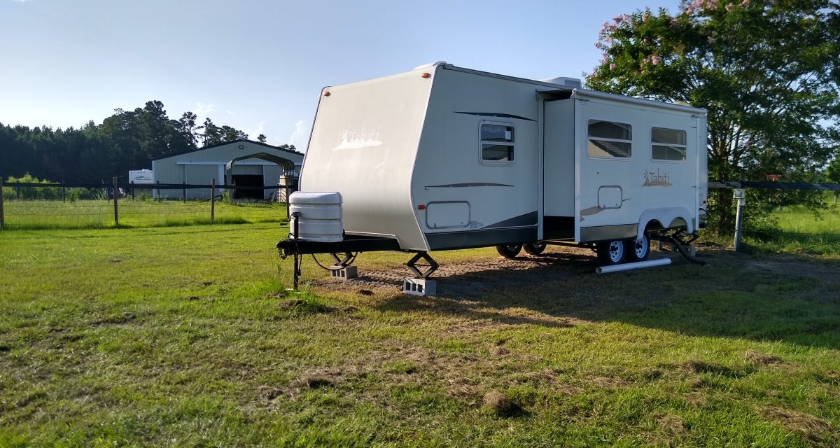 One of our 5 RVs